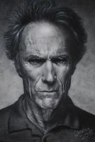 Clint Eastwood by Gore-Shiring