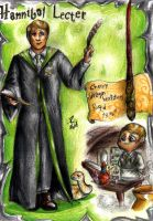 Hannibal Hogwarts - Slytherin Lecter by FuriarossaAndMimma