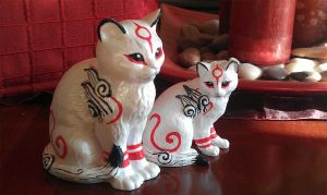 ---SOLD--- Customized Kabegami' statues by stephanie1600