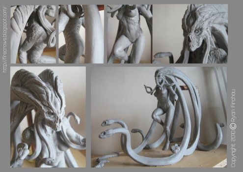 Medusa wip update by firecrow78