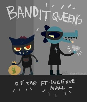 [NITW] Bandit Queens of the Ft. Lucenne Mall by LPSoulX