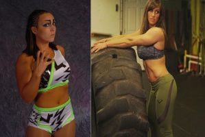 Sara Del Rey vs Kristen Graham by fatehound45