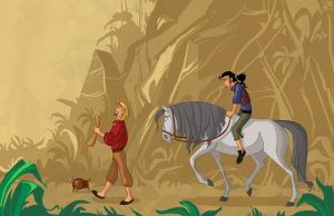 the road to the El Dorado by morteraphan