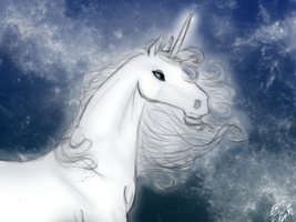 Unicorn by HellmotherEva