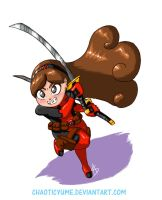 Deadpool Mabel by ChaoticYume