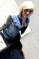 Android 18 by Justawaykitty