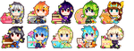 10  guardians (brave frontier) by calamityusagi