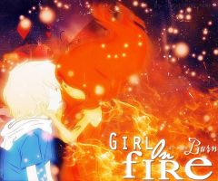 OUT Girl On Fire by SuiSkellington