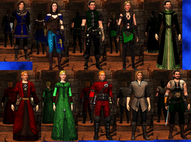 EverQuest- Sims Medieval by Janus3003