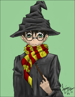 Ickle, Wickle Harry Potter by Ai-hime