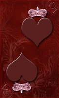 Queen of Hearts Card by WDWParksGal