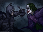 The Unstoppable Force Meets the Immovable Object by SeanDonnanArt