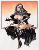 The Black Queen from the Hellfire Club by Reverie-drawingly