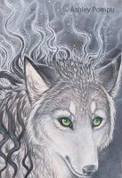 ACEO Electricity In The Air by vashley