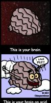 This Is Your Brain... by Chimpantalones