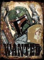 Boba Fett - Wanted by mjfletcher