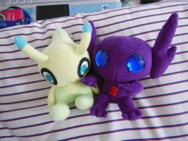 Sableye pokedoll by aSourLemon