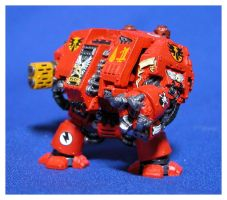 Blood Angels Dreadnought by jonnymorris