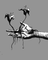 Hand Flower by Acacello