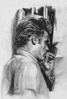 james dean by MargotitudeD
