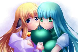 Nable and Liaas by Xano501