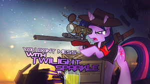 Twilight Sparkle Siggie by FoxDesigns93