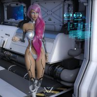 Space Odyssey 6 : Android E.v.e.4 by Vizzee