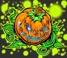 tattooryan pumpkin by tattooryan