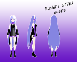 Rushii UTAU outfit by vladanor