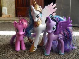 Modified Princesses and Twilight Sparkle by thetamar