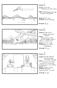 Cleaning House - Storyboard Sample by SeitoAkai