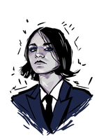 brian molko by monkos