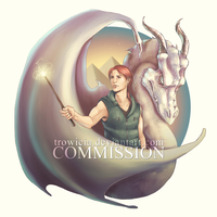 Bill Weasley Commission by trowicia