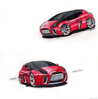 Toyota yaris concept by 6mik-design