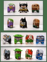 Batman and Rogues by jonito