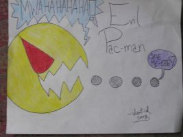 Evil Pacman by Identical
