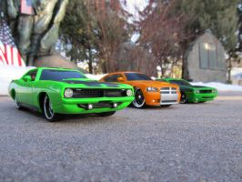 Cuda Up Front by KateKannibal