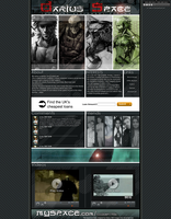 Metal Gear Solid Layout by D-aRiuS