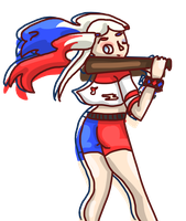 SS Harley Quinn by Hartmix
