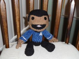 Spockboy - Custom Sackboy by magyss