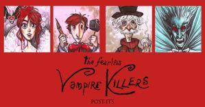 POST IT FEARLESS VAMPIRE KILLERS by QuinteroART