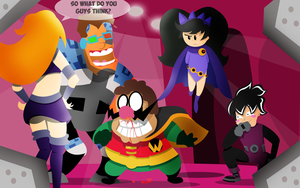 Warioware Costume Party Titans Edition by Skatoonist