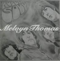 Rubber Soul   drawing by MelT55