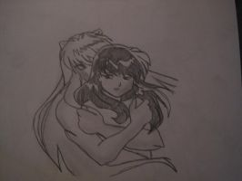 InuKag in love by nami94