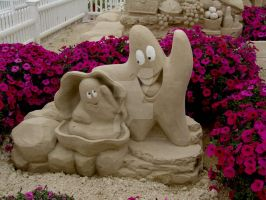 Sand Sculptures II by TriciaStucenski