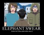 Elephant Swear by EmoChild67