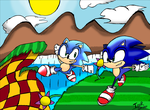 Sonic Generations Green Hill by Firefenixss