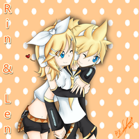 ::Rin_and_Len:: by naomithecat1
