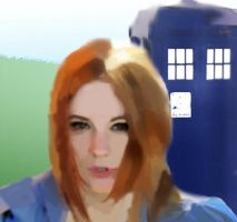 Amy Pond by Astralview