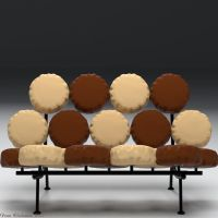 Marshmallow Sofa Model by Luxxeon by Shango-ThunderStones